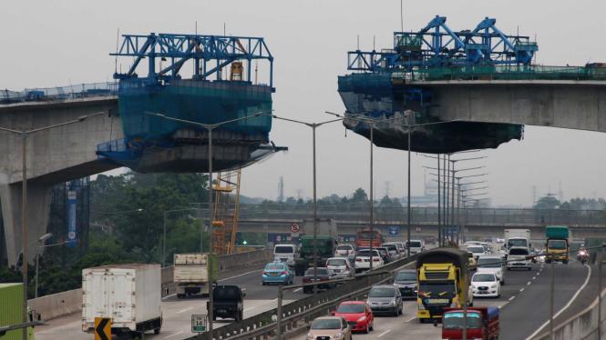 Proyek pembangunan Jalan Layang Transjakarta Tendean-Ciledug, Jakarta