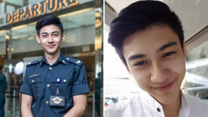 Lee Minwei, petugas bandara.