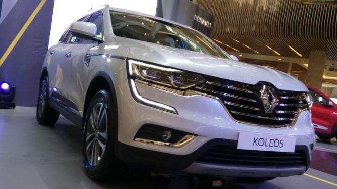 Peluncuran New Renault Koleos di Jakarta, 19 Oktober 2016.