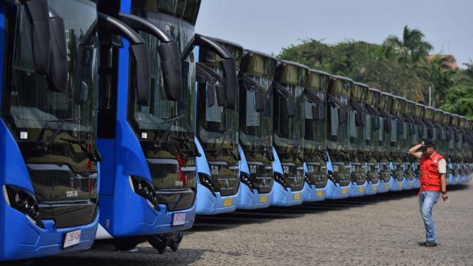 Armada Bus Transjakarta