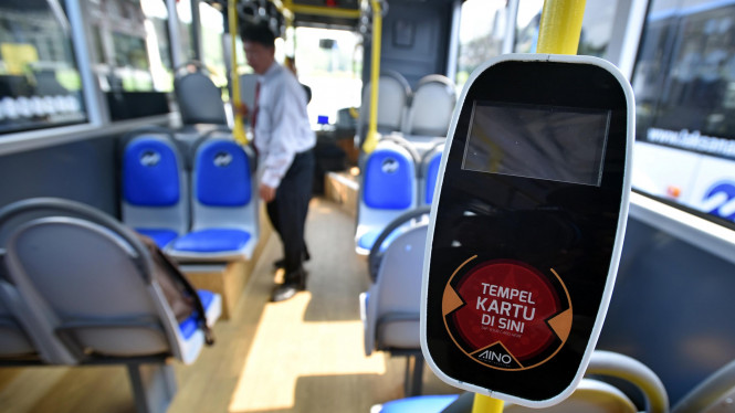Ilustrasi Bus Transjakarta