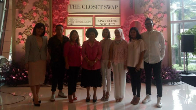 Konferensi pers The Closet Swap Luxury & Bridal Market for A Cause
