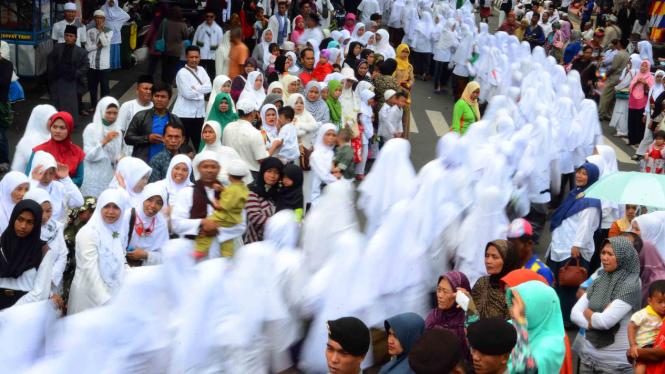 Persiapan Perayaan Hari Santri Nasional 2016