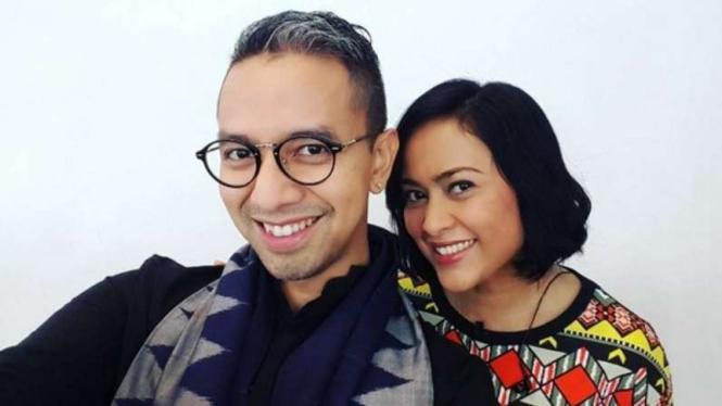 Didiet Maulana dan Sarah Sechan