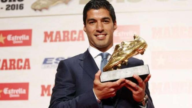 Bintang Barcelona, Luis Suarez