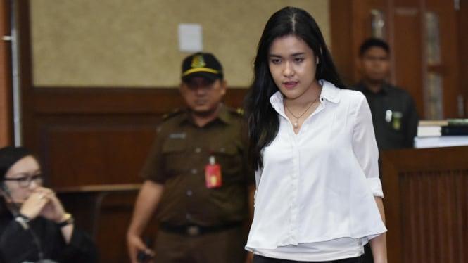Jessica Kumala Wongso di Pengadilan Negeri Jakarta Pusat beberapa waktu silam.