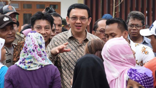 Gubernur DKI Jakarta, Basuki Tjahaja Purnama alias Ahok.