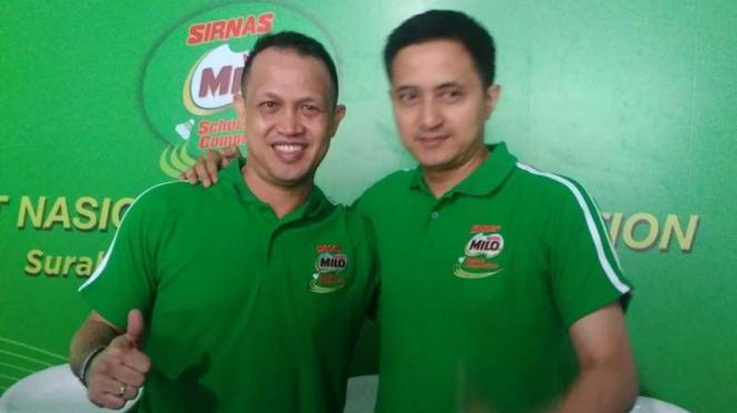 Eks pebulutangkis Indonesia, Rexy Mainaki dan Ricky Subagja