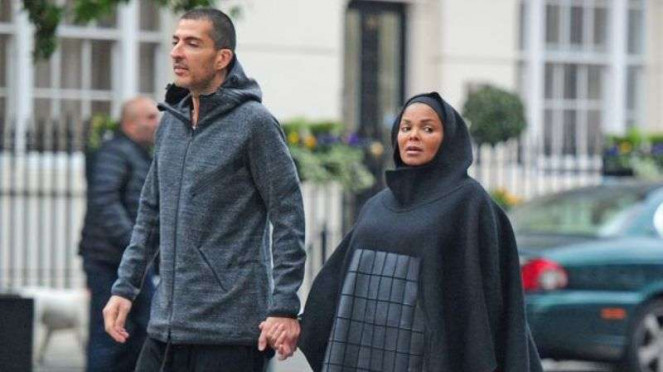 Janet Jackson dan suami miliarder