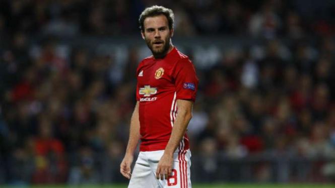 Gelandang Manchester United, Juan Mata.