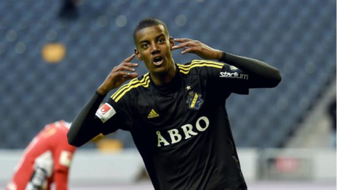 Striker muda AIK Solna, Alexander Isak.