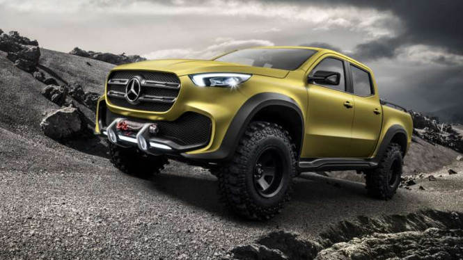 Mercedes-Benz X-Class Powerful Adventure.