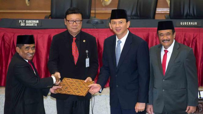 Sumarsono kembali ditunjuk menjadi Plt Gubernur DKI Jakarta, Senin, 6 Maret 2017.