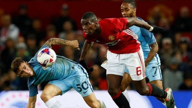 Duel Manchester United vs Manchester CIty