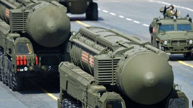 RS-24 Yars, salah satu rudal balistik antarbenua milik Rusia.