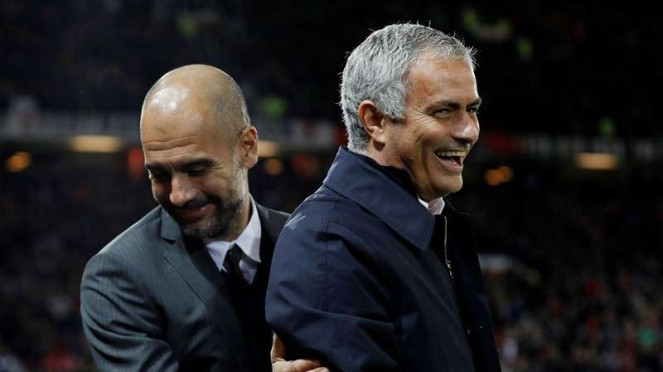 Pep Guardiola dan jose Mourinho