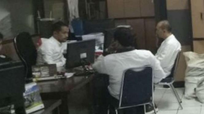 Polda Metro Jaya melakukan pemeriksaan kasus penipuan