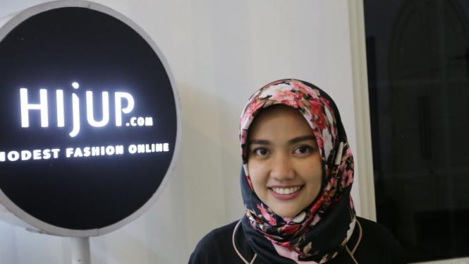 Pendiri dan CEO HijUp.com Diajeng Lestari.
