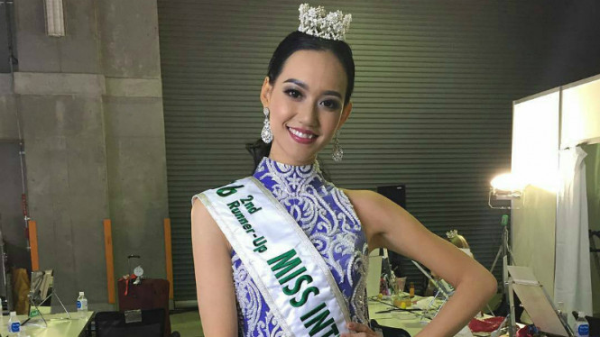 Felicia Hwang raih predikat 2nd Runner Up Miss International 2016