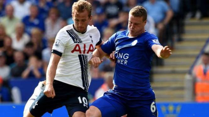 Pertandingan Leicester City melawan Tottenham Hotspur