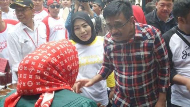 Calon Wakil Gubernur DKI Jakarta petahana, Djarot Saiful Hidayat.