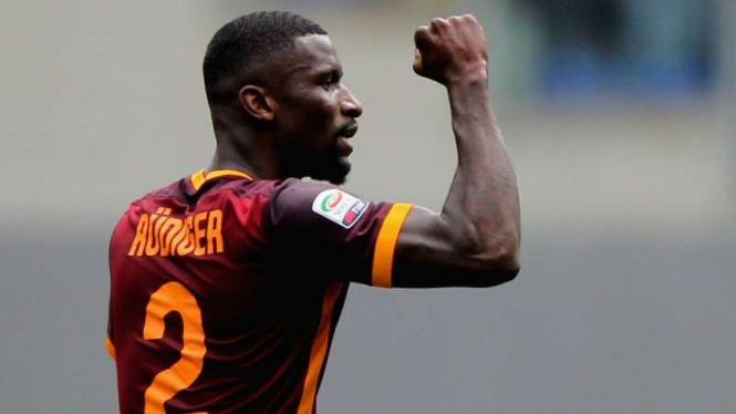 Pemain belakang AS Roma, Antonio Ruediger