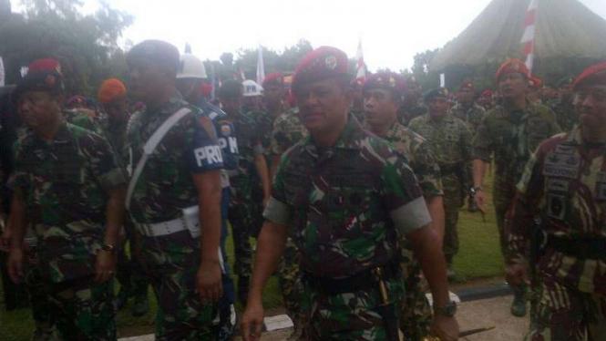 Panglima TNI Jenderal Gatot Nurmantyo di Serang, Banten