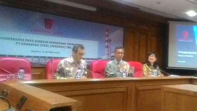 Laporan keuangan Krakatau steel.