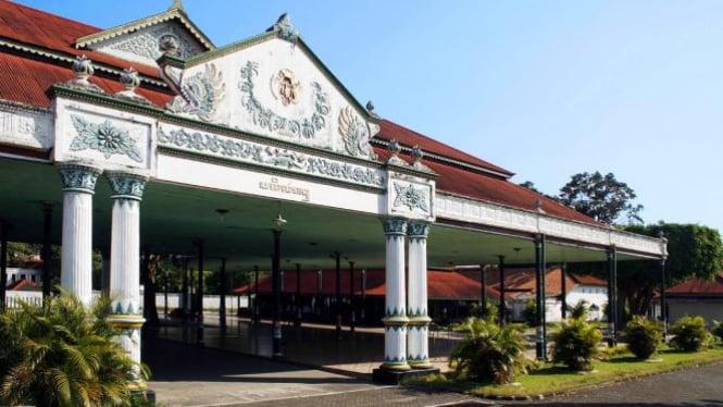 Keraton Yogyakarta.