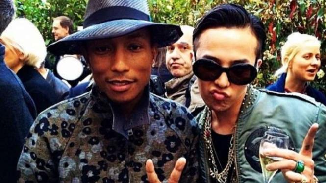 Pharrell Williams dan G-Dragon