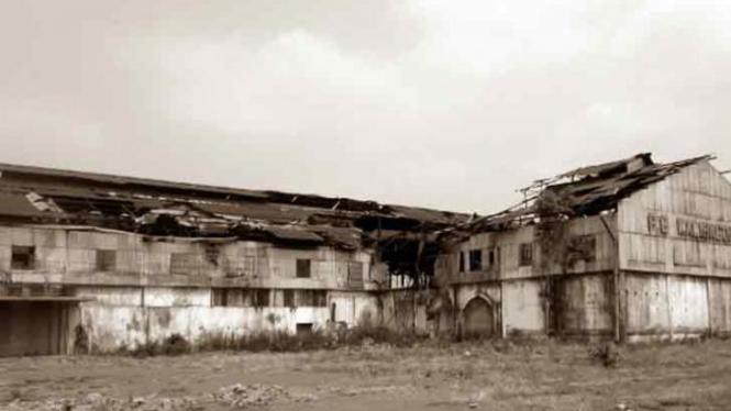 Bekas Pabrik Gula Kalibagor.