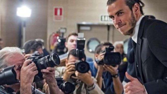 Gareth Bale, pemain Real Madrid.