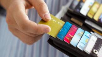 Kartu kredit.