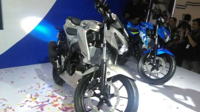 GSX-S150 dan GSX-R150 diluncurkan di IMOS 2016.