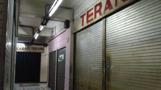 toko di pasar Senen