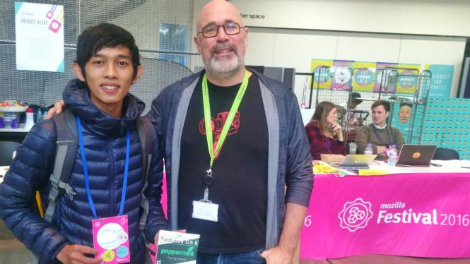 Diky Arga Anggara, programer mahasiswa Udinus Semarang tampil di London
