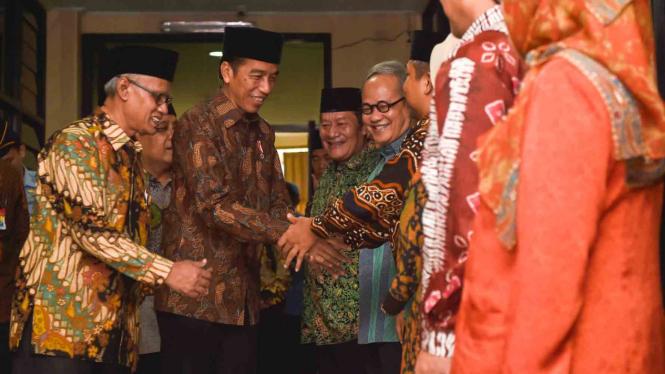Presiden Jokowi Bertemu Pimpinan PP Muhammadyah.