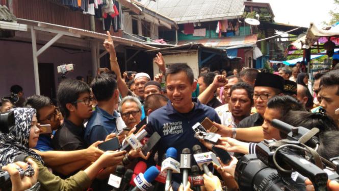 Calon Gubenur DKI Jakarta, Agus Harimurti Yudhoyono