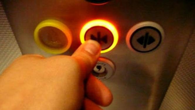 Ilustrasi lift.