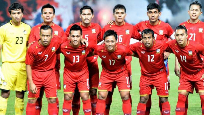 Skuat tim nasional Thailand