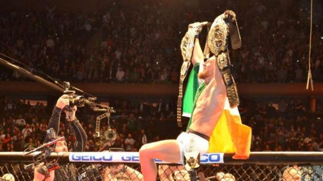 Petarung MMA internasional, Conor McGregor