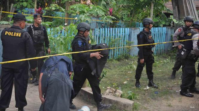 Aksi Teror Bom di Samarinda