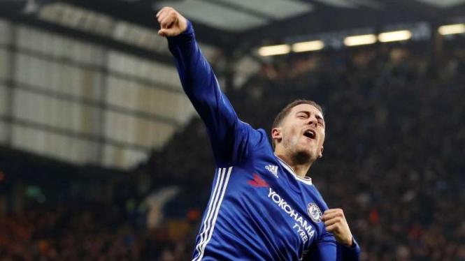 Bintang Chelsea, Eden Hazard.