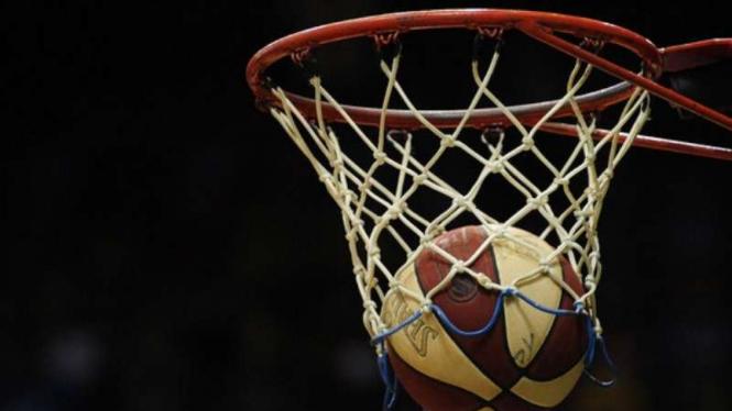 Ilustrasi olahraga bola basket