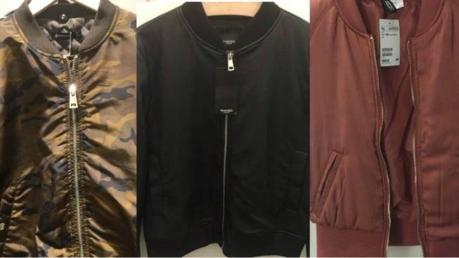 Daftar Jaket Bomber Branded Harga di Bawah Rp600 Ribu – VIVA 6c311f19d5