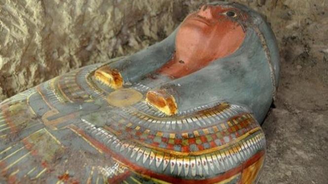 Penemuan Mumi Mesir Kuno.