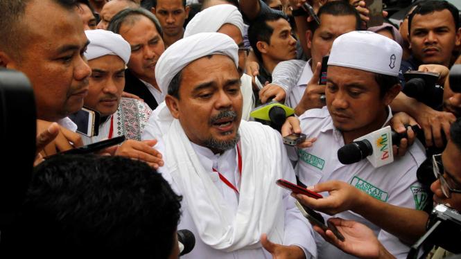 Imam Besar Front Pembela Islam, Rizieq Shihab.