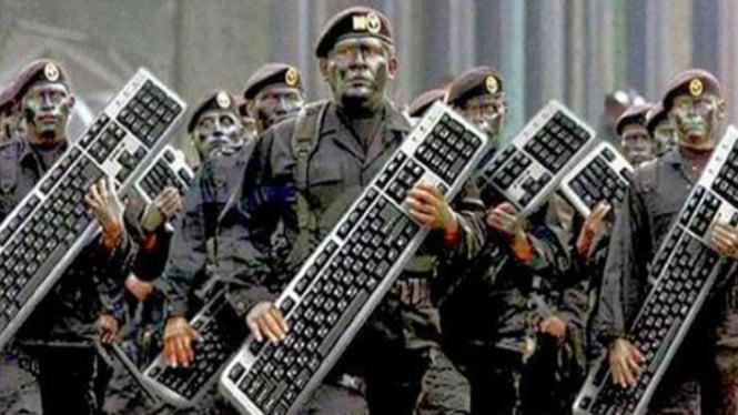Pasukan Keyboard Warrior.