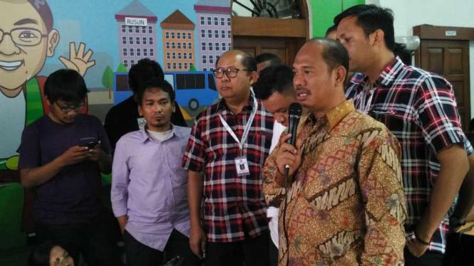 Ketua tim hukum Ahok, Sirra Prayuna di Rumah Lembang, Menteng, Jakarta Pusat.