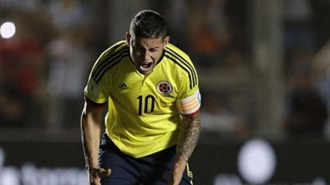 Kapten timnas Kolombia, James Rodriguez